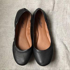 Lucky Brand Black Emmie Ballerina Flats